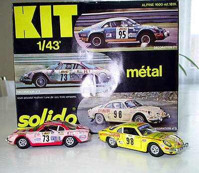 Alpine Renault A110 Solido-Kit
